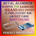 ALUMINUM BUMPER METAL CASE for SAMSUNG GRAND NEO I9060 AIR JACKET COVER FRAME