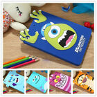 Kids 3D Cute Cartoon Animal Monsters Cover Soft Silicone Gel Back Case For iPad
