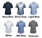 Ladies Short Sleeve Formal Shirts Size 8 to 24 WORK CASUAL LEISURE - BTC STYLES