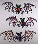 Katherine's Collection Baguette Bat Ornament 08-79784 (Your choice from 3 types)