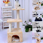 Cat Tree Scratching Post Condo Furniture Scratch Poles Bed Gym House AU Stock