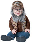 Uncle Si CHILD BABY Costume Kit Duck Dynasty Hat Wig Beard Vest Glasses NEW