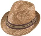 Henschel Fedora Vented Two Tone Straw Wheat 3311-88