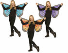 Soft Child Butterfly Wings Reenactment Theater Accessory Halloween 3 Colors fnt