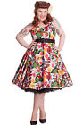 HELL BUNNY Mexico Dress 50s Rockabilly Swing Retro Day of the Dead PLUS SIZE