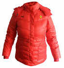 Puma Womens Ferrari Red Down Jacket  (561890 01) U93