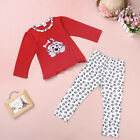 Baby Girl Toddler Kids Unisex Pajamas Spotty Dog Sleepwear Nightwear for 1-6T