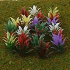 100x Model Flowering Plants for Architectural Railway Diorama Scenery Layout 4cm