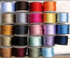 SATIN 2mm RatTail CORD 25 yards (75 feet) Many Colors ~ Macrame/Kumihimo/Crafts