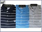 MENS BIG SIZE 100% COTTON ITALIAN DESIGNER STRIPED PK POLO T SHIRT 3X-4X-5X