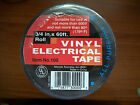 "3/4"" x 60 ft Vinyl Electrical Tape - You Choose Qty"