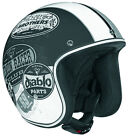 Vega X-380 X380 Old Skool Open Face Helmet