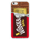 Willy Wonka Golden Ticket Chocolate Bar Cover Case For Apple Iphone 6 /6 Plus
