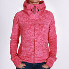 Bench Slinker II Hooded Jacket Dark Pink Marl Damen Fleecejacke Pink