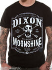 Official The Walking Dead Moonshine T Shirt Black M L XXL Dixon