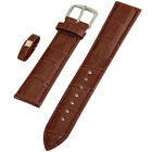 Quality Leather Watch Strap Band with Steel Buckle for Wristwatch 18mm 20mm 22mm