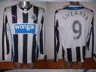 Newcastle United SHEARER Puma BNWT M L XL Football Soccer Jersey Shirt NEW L/S