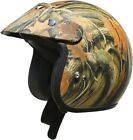 AFX YOUTH FX-75 Open Face Camo Motorcycle Helmet S-L