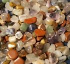 Tumbled Gemstones Mix! South American 8-12mm Up to 20 lbs Bulk Wholesale Stones
