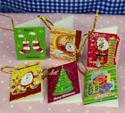 20pcs Christmas card Hanging Decorations For Christmas Trees Hot Decoration