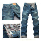 NEW DESIGNED MENS CASUAL JEANS STYLISH SKINNY STRAIGHT SLIM FIT TROUSER PANTS #F