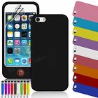 New Soft Jelly TPU Case Cover for Apple iPhone 5S 5