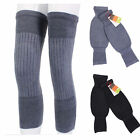A pair of Soft / Elasticity Thicken Cashmere Wool Knee Warmer Supporter