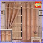 Window Lined Curtain Set And Valance Window Trestment 2 Panel Luxury New Lida