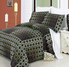 W-Elm 3-Pieces Duvet Cover Set 100% Egyptian Cotton