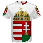 Hungary Hungarian Coat of Arms Sublimated Sublimation T-Shirt S,M,L,XL,2XL,3XL