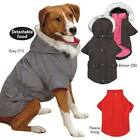 ESKIMO DOG JACKET 3 in 1 Winter Weather Parka Coat w/ Fur Trim Hood Fleece Lined