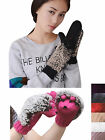 Fashion New Women Winter Warm Lovely Hedgehog Cartoon Animal Ski Gloves Mittens