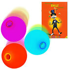 3x LED Colour Change Rainbow Glow Juggling Ball Set & Instruction Booklet