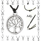 Jewelry New Retro Adjustable Silver Pendant charms Choker necklace Pagan Gothic