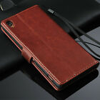 New Genuine Real Leather Photo Flip Wallet Card Case Cover For Sony Xperia Z3