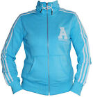 ADIDAS WOMENS LADIES COLLEGEGATE TRACK TOP RRP £55 JACKET ORIGINALS RETRO @