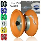 Henrys Viper Flux Yo Yo w/ Hubstacks (1A, 5A) Stacked Yoyo + Free Booklet