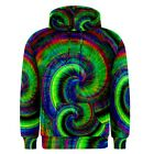 Hippy Tie-Dye Psychedelic Peace Sublimated Sublimation Hoodie S,M,L,XL,2XL,3XL