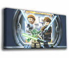 LEGO STAR WARS YODA LIGHTSABER - PREMIUM GICLEE CANVAS ART *Choose your size