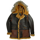 Alpha Industries B-7 Vintage Sheepskin Parka
