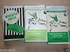 Newcastle Home Programmes   1967/68 to 69/70.  Select from list