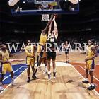AC555 Shaquille ONeal Shaq Blocks Dunk LA Lakers 8x10 11x14 12x18 Color Photo