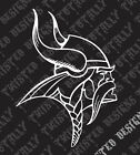 Minnesota Vikings vinyl decal sticker car truck motorcycle nfl football $5.99 USD on eBay