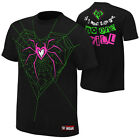 AJ Lee WWE Diva If I Can't Have You Authentic Mens Black T-shirt