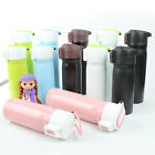 Portable Stainless Steel Insulated Vacuum Flask 350ml Bouncing Cup Bottle Mug
