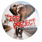 OFFICIAL Zoo Project Ibiza: Elephant Logo 2012 Large Sticker RRP £4.00 9.5cm