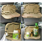 Car Vehicles Multipurpose Foldable Foods Drink Bottle Snack Travel Dining Tray