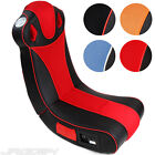 Multimedia Gaming Chair 4 Colours Music Games Rocker Seat Foldable Sound New