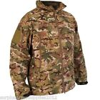 MENS JACKET FLEECE LINED SOFT SHELL MULTICAM MTP FISHING HIKING BRITISH ARMY