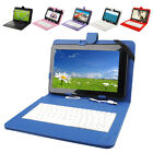 """10.1"""" Android 4.4 A33 Quad-Core 8G Tablet PC WiFi Bluetooth Cam w Color Keyboard"""